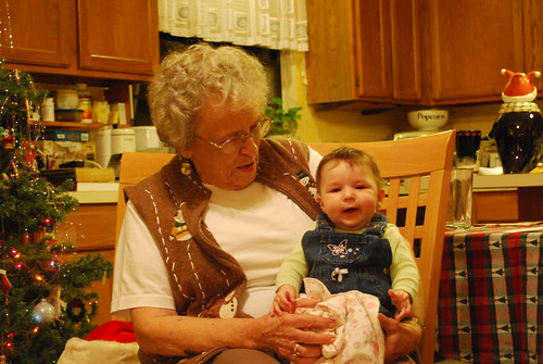 Savannah and her great-grandma