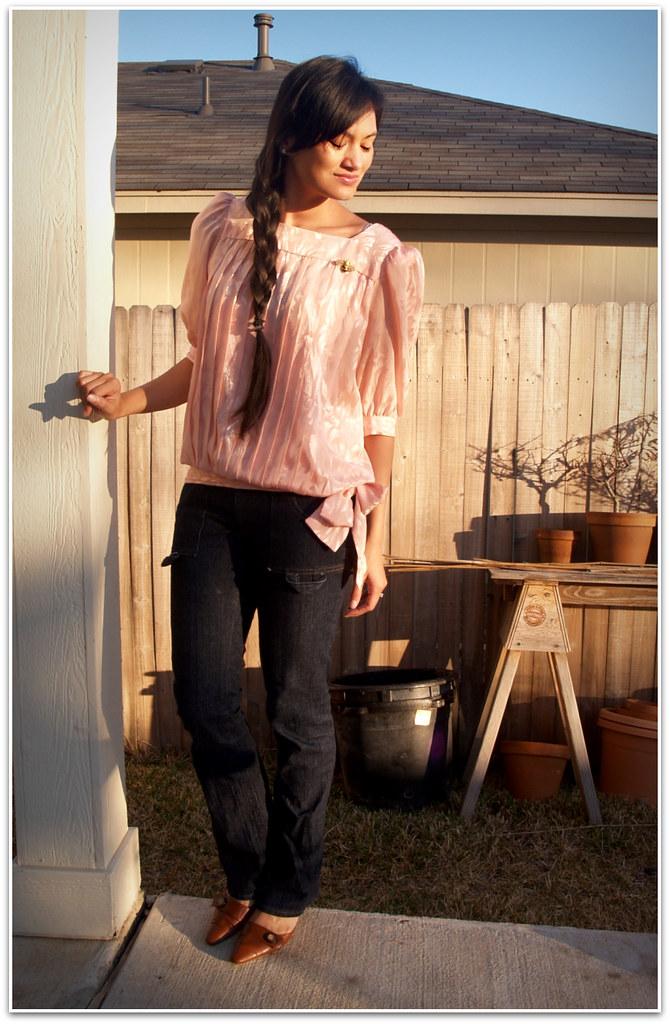 Dynasty blouse