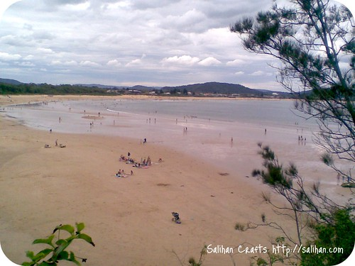 Umina Beach on New Year's Day '10
