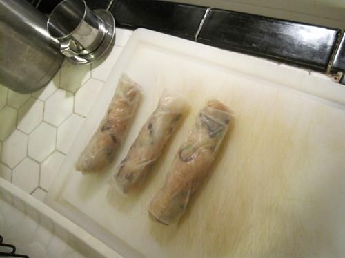 Ready to fry Vietnamese spring rolls - Cha Gio / Nem Ran