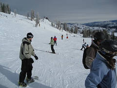 Skiing at Squaw Photo