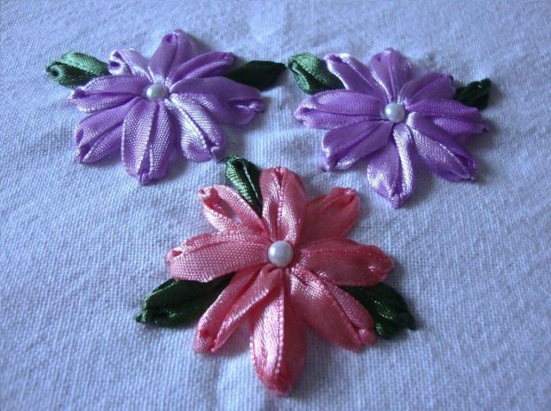 Sisteracts Silk Ribbon Embroidery