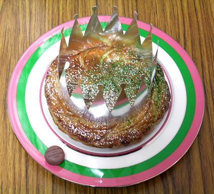 galette des rois - sadaharu aoki