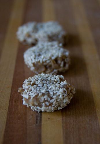 Sesame Seeds Tahini Cookies