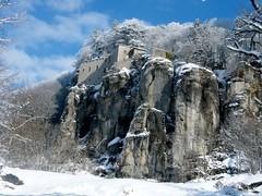 """il Santuario della Verna ("""" paolo ammannati """") Tags: panorama natura cielo neve toscana inverno viaggi verna casentino ghiaccio effettinaturali fotoconneve panoramaconneve"""