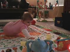 She crawled! (leesepea) Tags: sweetpea