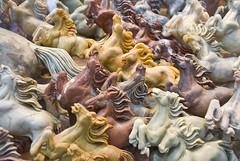 Wild Horses (Thomas Hawk) Tags: horses sculpture horse art