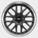 ASA AR1 Black BMW Wheel 328 335
