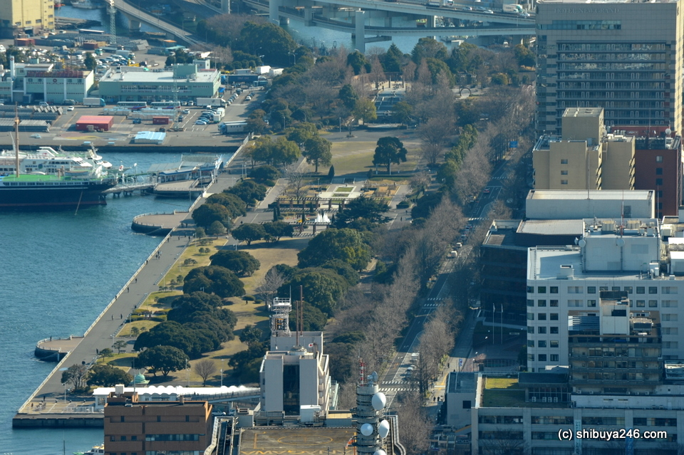 Yamashita Park, Yokohama