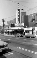 Historic photo from Saturday, September 3, 1983 - Eglinton Theatre at 400 Eglinton Ave W - showing James Bond Octopussy in Allenby