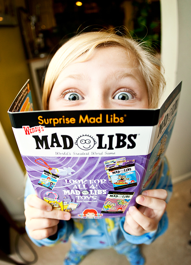 Mad libs are the BEST!