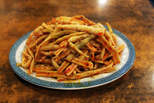spicy bamboo shoots