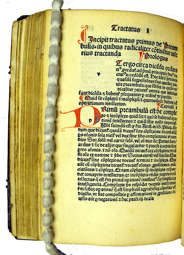 Initial in Armandus de Bellovisu: De declaratione difficilium terminorum tam theologiae quam philosophiae ac logicae