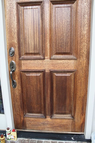 How To Polish A Wood Front Door You Only Need 3 Things