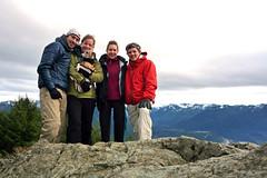Andre & Ellie's inaugural Si hike