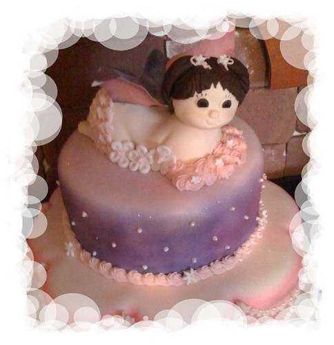 Butterfly-Baby Shower cake