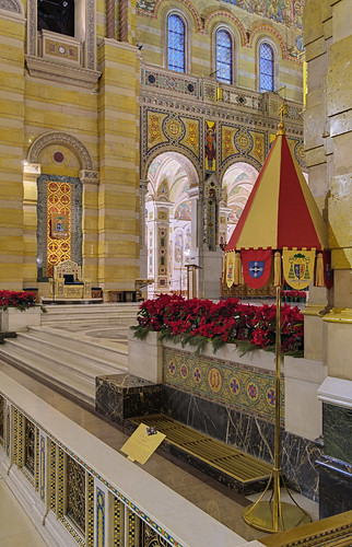Cathedral Basilica of Saint Louis, in Saint Louis, Missouri, USA - Ombrellino