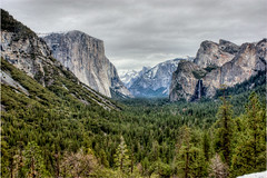 yosemite valley (emily golitzin) Tags: trees mountains colors photoshop waterfall valley saturation hdr highdynamicrange yosemitevalley photomatix project365 365days 17365 canonefs1855mmf3556is canoneosdigitalrebelxsi