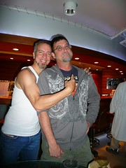 JJ and me on Jamcruise 1