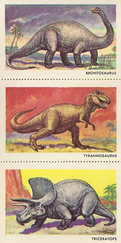 Sinclair Dinosaur Stamps Set 2