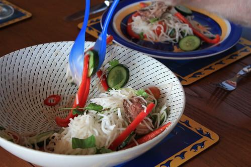 January Meal: Asian Salad