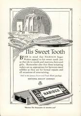 Nabisco Chocolate Ad - April 1920 (snap-happy1) Tags: vintage advertising graphic chocolate arts 1920 nabisco rochon