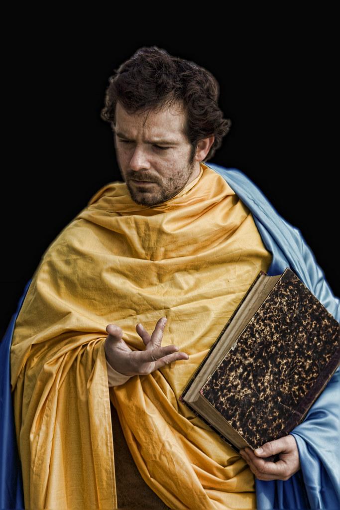 Daniel Martín como Santiago el Menor. Fotografía de Eva Corral