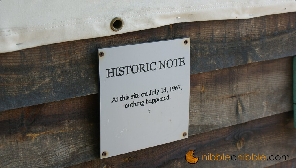 Important Historic Note