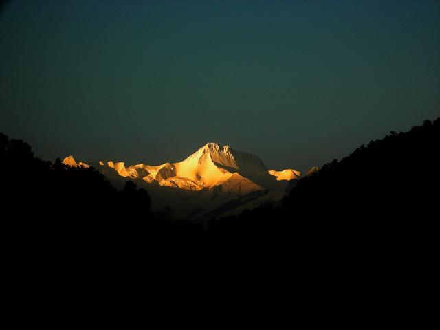Full Snow cap Annapurna