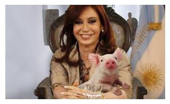 cristina de k love the pig