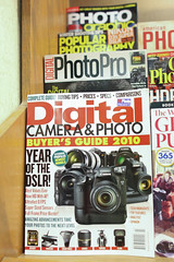 I read some photo magazines (gloryanlin) Tags: canon magazine eos prime indiana terrehaute    24l 40d l   honeycreekmall 24lii ef24mmf14lusmii