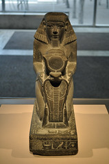 Kneeling Statue of Senenmut, Chief Steward of Queen Hatshepsut (stevesheriw) Tags: texas fortworth ftworth tarrantcounty kimbellartmuseum museum ancient egyptian statue newkingdom senenmut hatshepsut kneelingstatueofsenenmutchiefstewardofqueenhatshepsut art