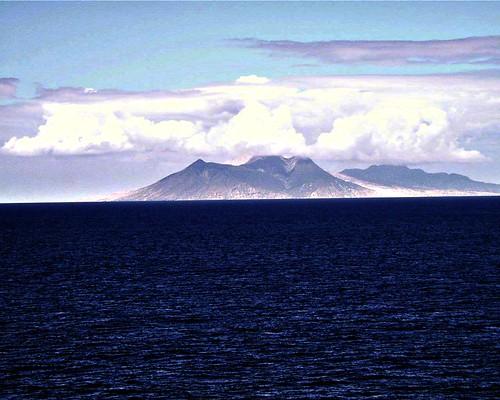 Active Volcano on Monserrat