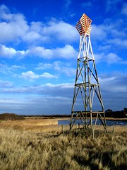 A winter day, some time ago... (lee.stephens) Tags: haven nature grass clouds pentax reserve lee optio beacon stephens navigation s4 titchfield