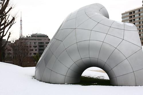 雪@東京ミッドタウン