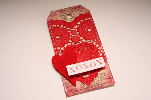 14 Tags of Valentine, No. 1