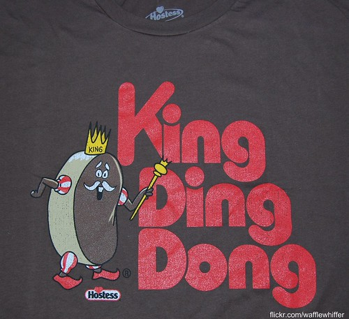 King Ding Dong t-shirts are out!