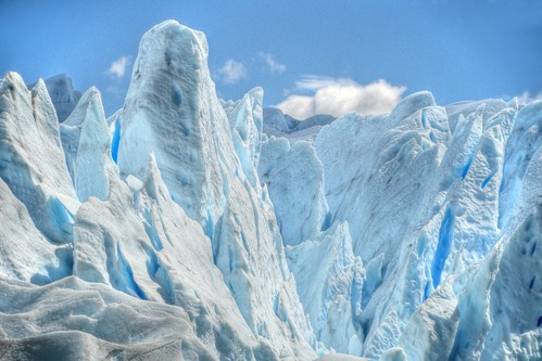 Ice Formations on Perito Moreno