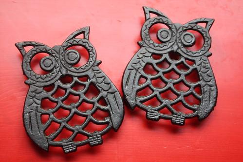 Owl Trivets