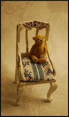 Teddy bear in 1:12 scale