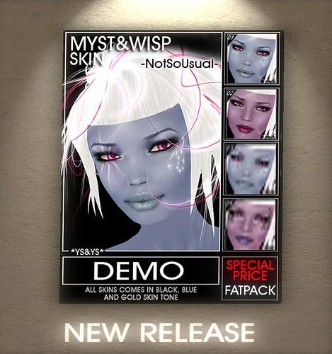 *YS&YS* Myst&Wisp Skin