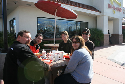 Lunch at In-n-Out