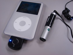 iPod Classic 80GB + TMR-BT8iP and HBH-DS205MK2