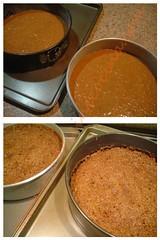 Antes y depués del horno