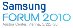 Samsung Forum 2010 Logo