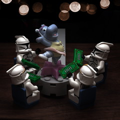 Day 184 (pasukaru76) Tags: bar starwars lego alterego hippo stripper happyhippo sigma105mm totw projectclone365