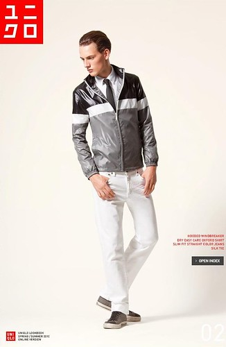 UNIQLO 0234_LOOK BOOK 2010 SPRING_Jakob Hybholt