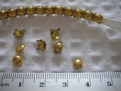 Apliques dourados