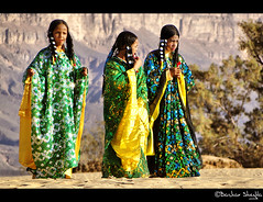 Festival of Colors ! (Bashar Shglila) Tags: people mountains sahara festival desert traditional tribe libya outfits tuareg libyan ghat sahra libyen  giels supershot  lbia  libi  libiya  liviya libija      artofimages bestportraitsaoi    lbija  lby libja lbya liiba livi   elberkit