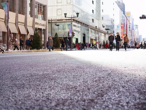 Ginza Sunday Noon